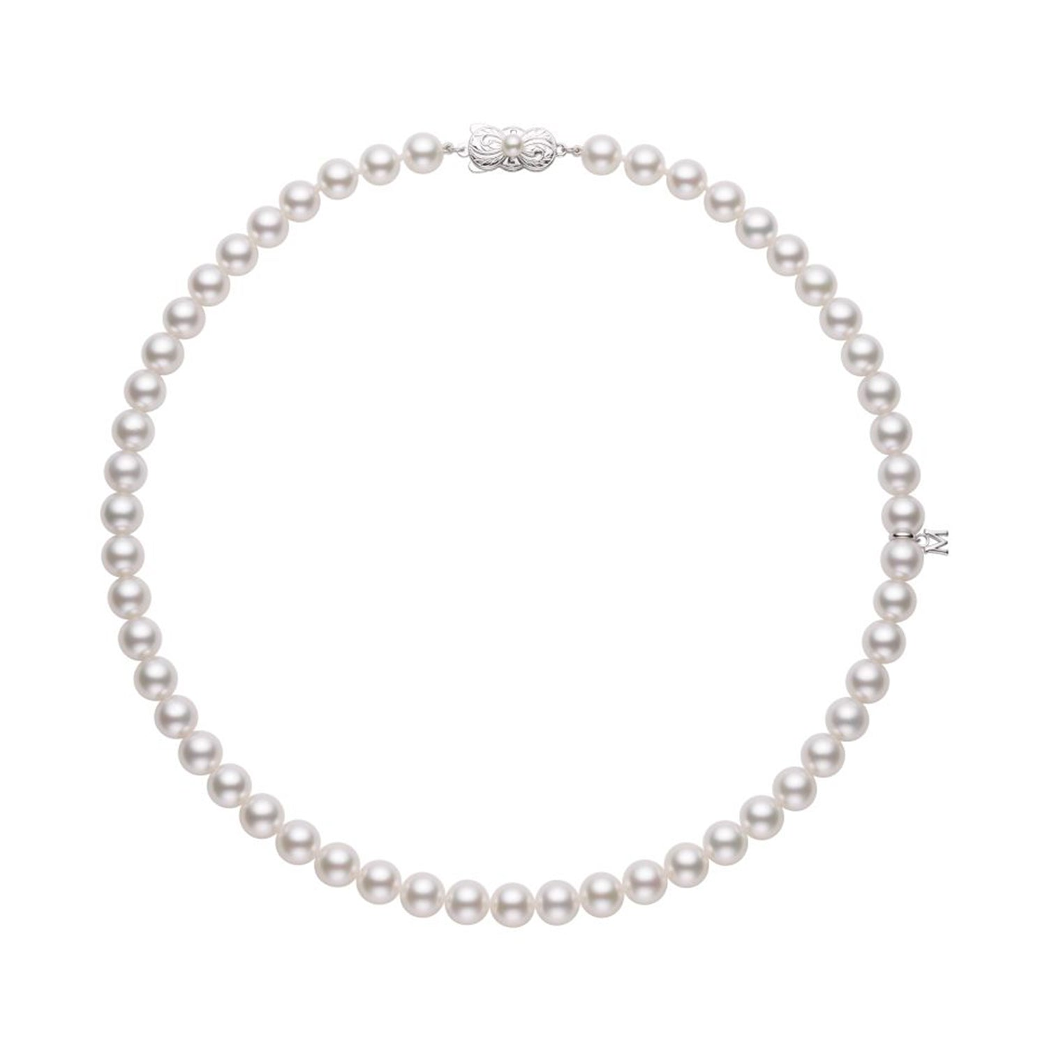 MIKIMOTO PREMIUM Akoya Cultured Pearl Necklace