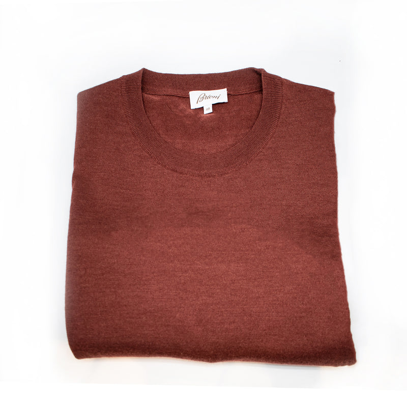 Brioni Long Sleeve Crewneck Knitwear