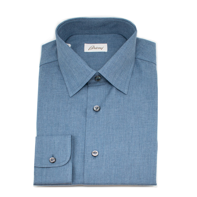 Brioni 100% Cotton Long Sleeve Shirt