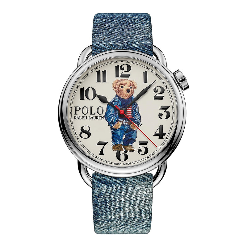 Polo Denim Flag Bear Watch
