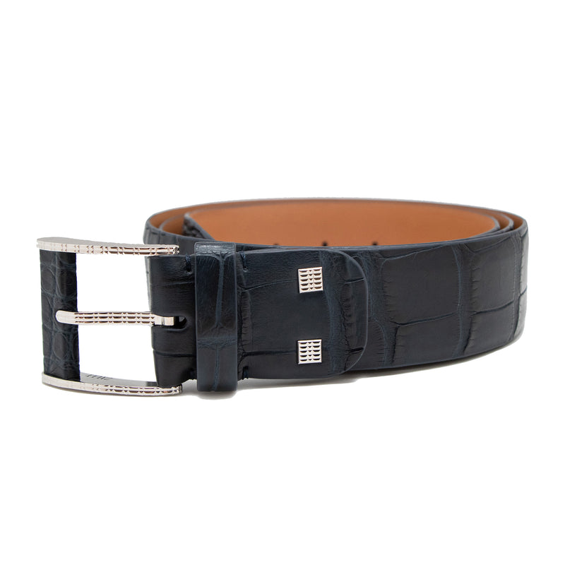 Black Zilli Croco Belt