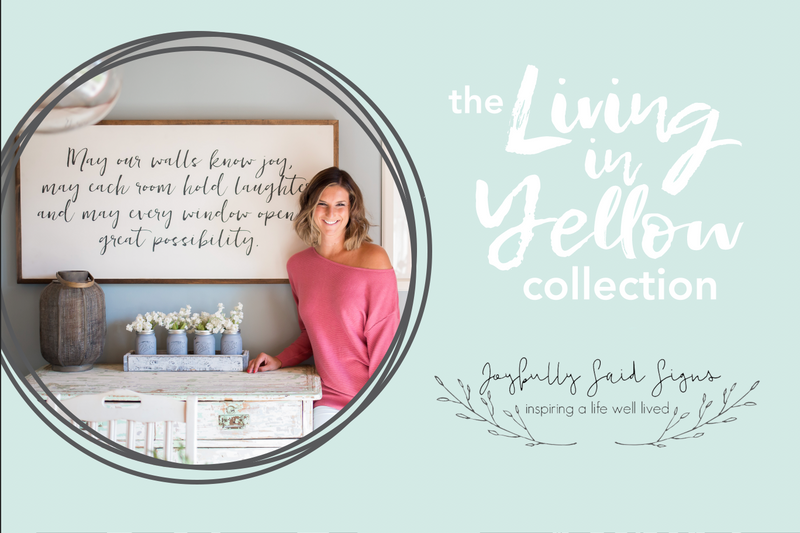 Introducing the Living in Yellow Collection!