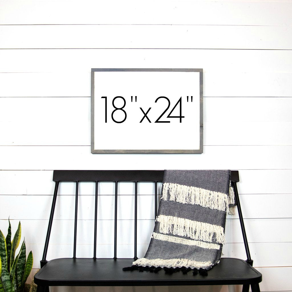 "Design Your Own Sign- 18""x24"" Horizontal"