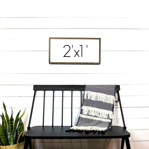 Design Your Own Sign- 2'x1' Horizontal