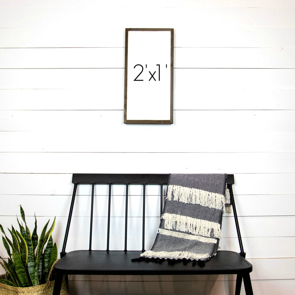 Design Your Own Sign- 2'x1' Vertical