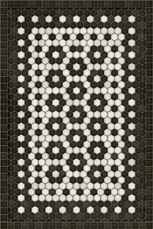Catherine Vinyl Floorcloth