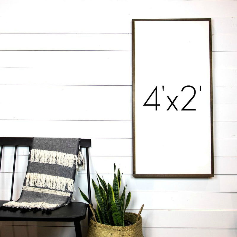 Design Your Own Sign- 4'x2' Vertical