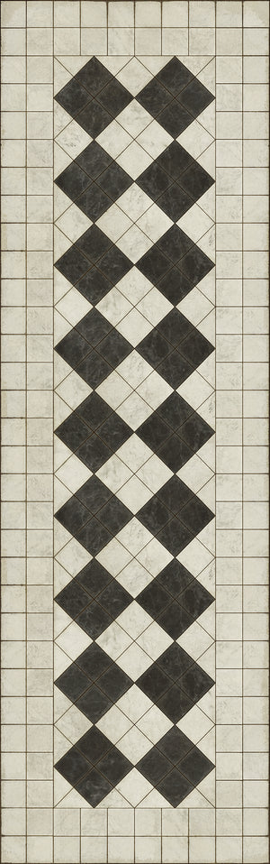 Opus Vinyl Floorcloth