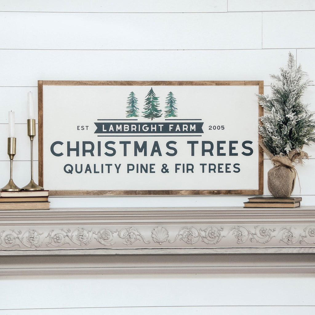 Family Tree Farm *PERSONALIZED* Wooden Sign