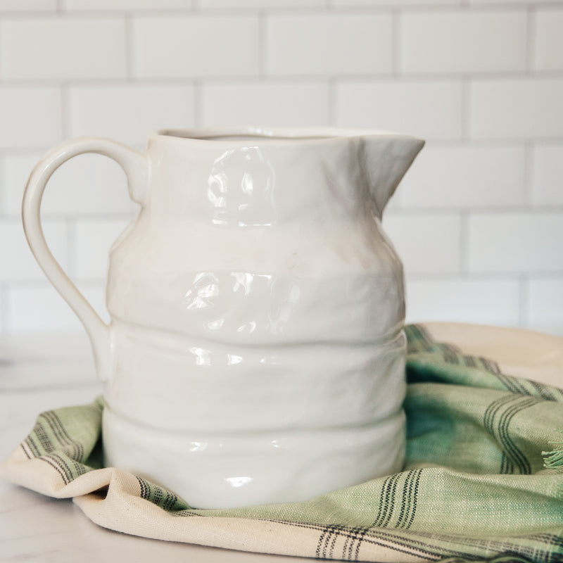 64oz Stoneware Pitcher