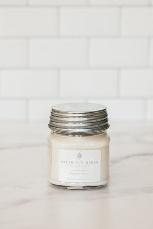 Fresh Cut Herbs Antique Candle Co. Candle