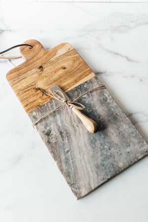 Marble/Acacia Wood cutting Board