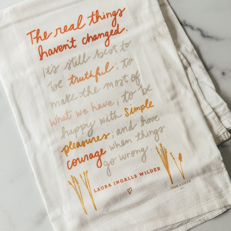 The Real Things | Flour Sack Towel
