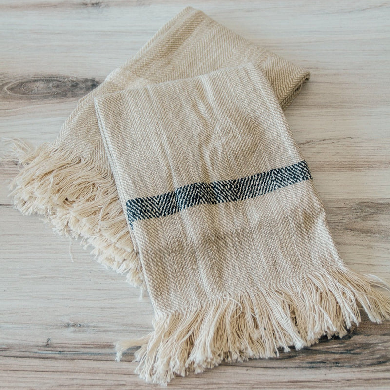 Woven Stripe Tea Towels