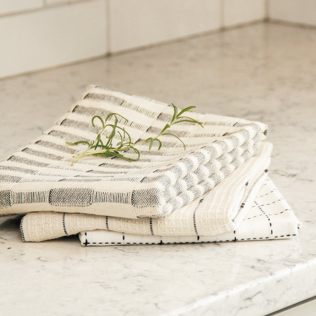 Kennedy Cotton Tea Towels | Set of 3