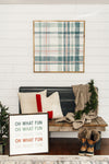 Plaid About You | Winter
