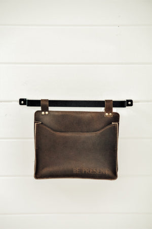 Leather Wall Pouch