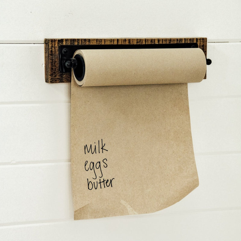 Wall Bracket w/ Paper Roll