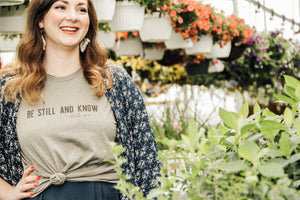 Be Still & Know Tee