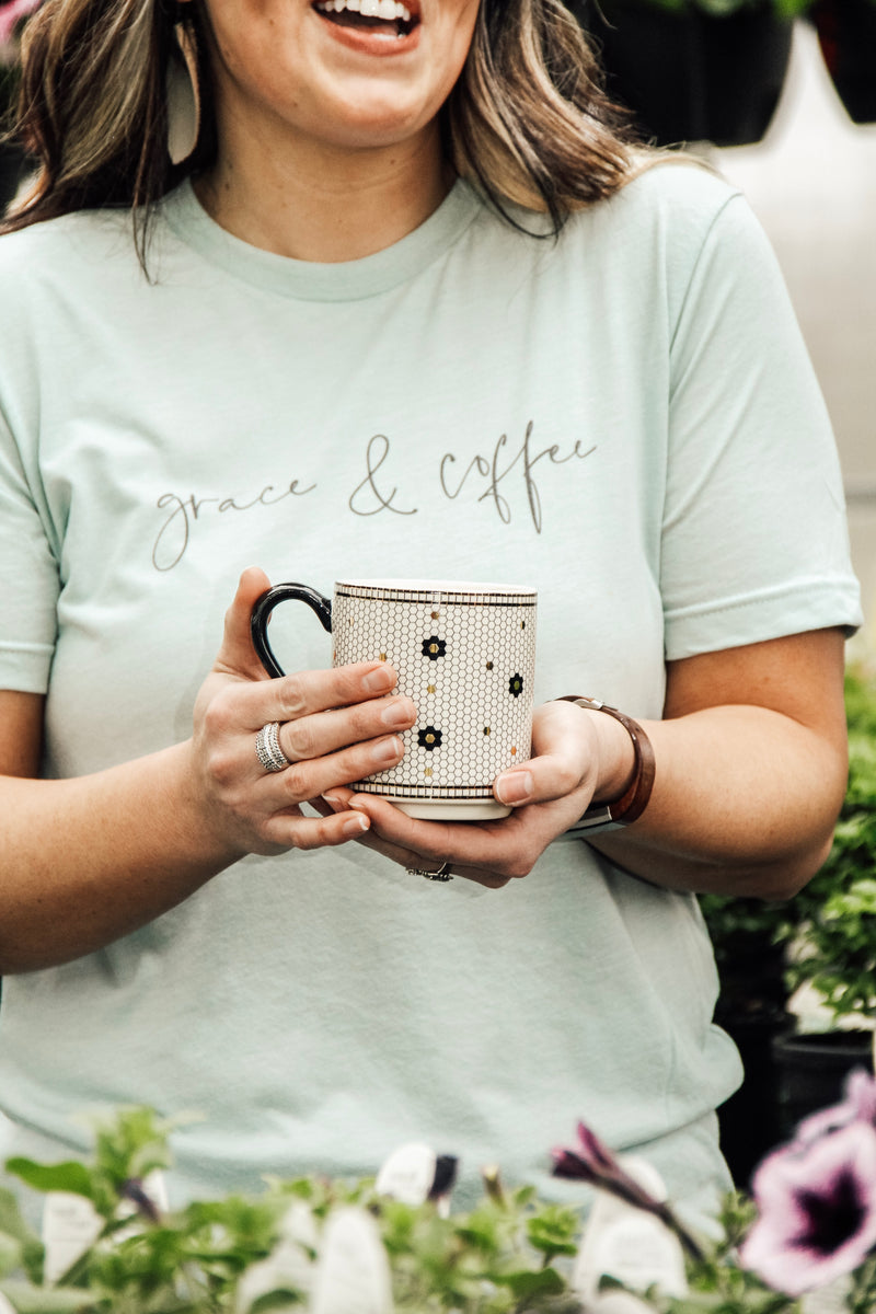 Grace & Coffee Tee