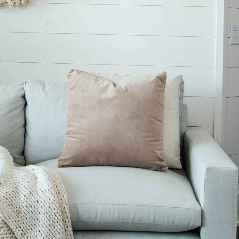 Velvet Pillow | 2 Colors