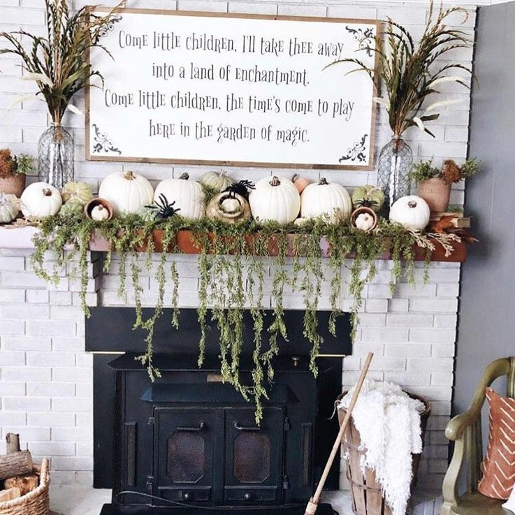 Hocus Pocus Wood Sign