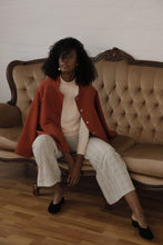 Load image into Gallery viewer, Kona wool Jacket in burnt orange