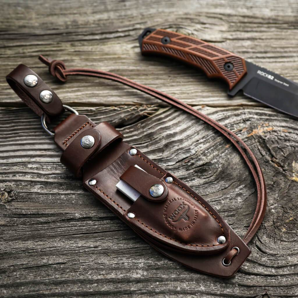 Genuine Leather High-End Knife Sheath