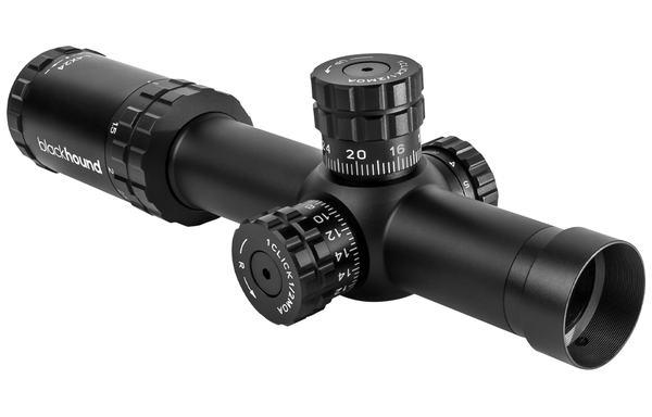 Blackhound Optics Genesis 1-4x24 FFP MOA Riflescope