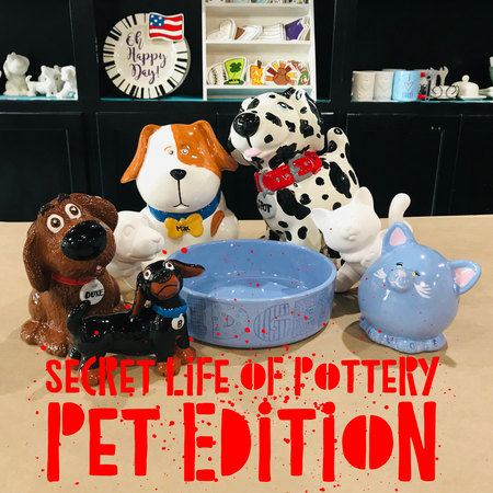 Secret life of pottery-PETS
