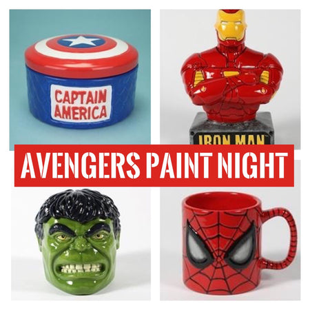 Avengers Paint Night