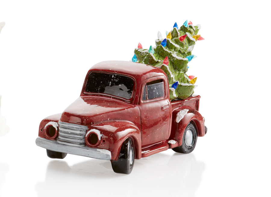 Vintage Truck with Tree Class