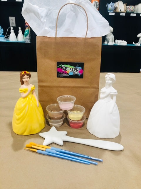 Princess Bank with Wand Kit