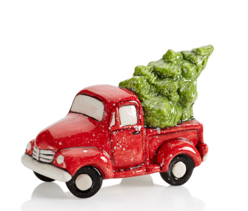 Small Truck with Tree