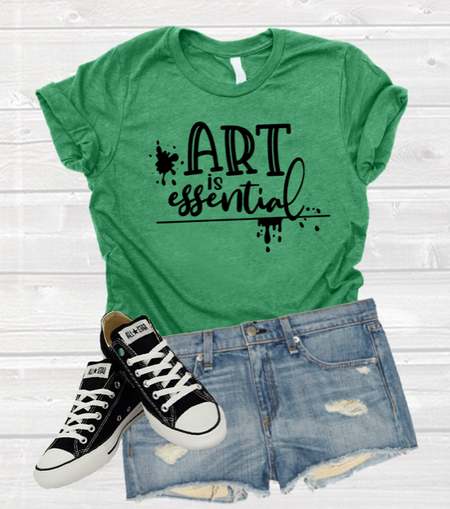 Art is Essential T-shirt