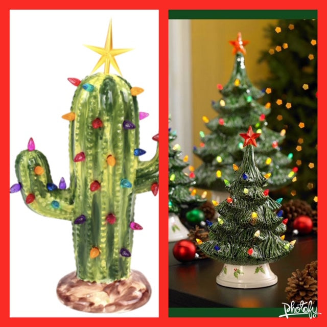 Lighted Tree/Cactus
