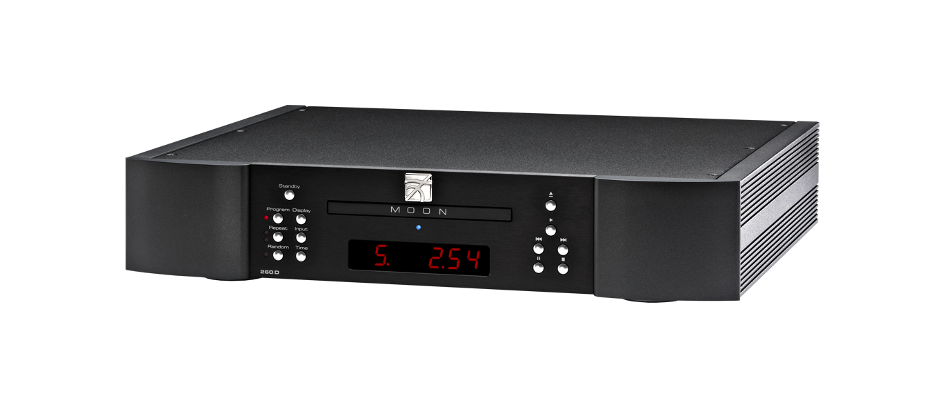 MOON 260D CD Transport with optional DAC
