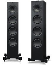 KEF Q550 Floorstanding Speakers Black/White with Grill
