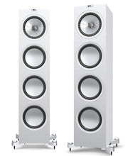 KEF Q950 Floorstanding Speakers Black/White with Grill