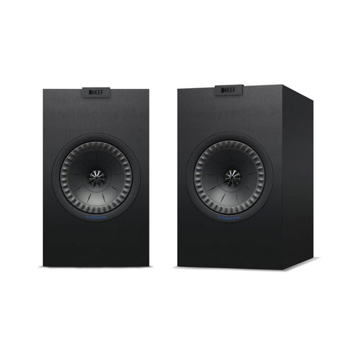 KEF Q150 Bookshelf Speaker Black/White with Grill