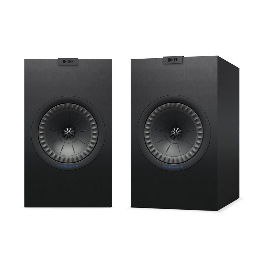 KEF Q350 Bookshelf Speakers Black/White with Grill