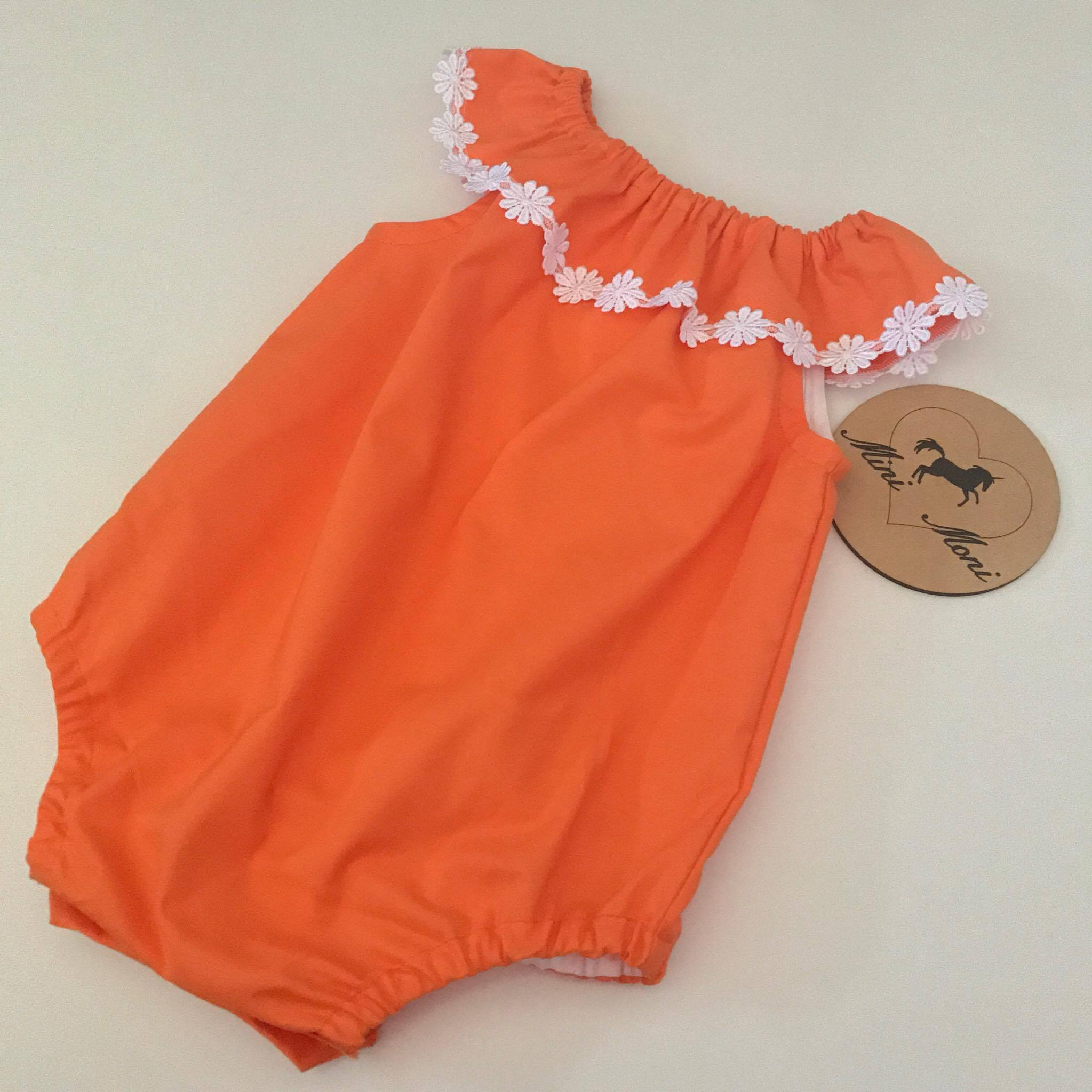 Flutterby Romper - Solid Colours