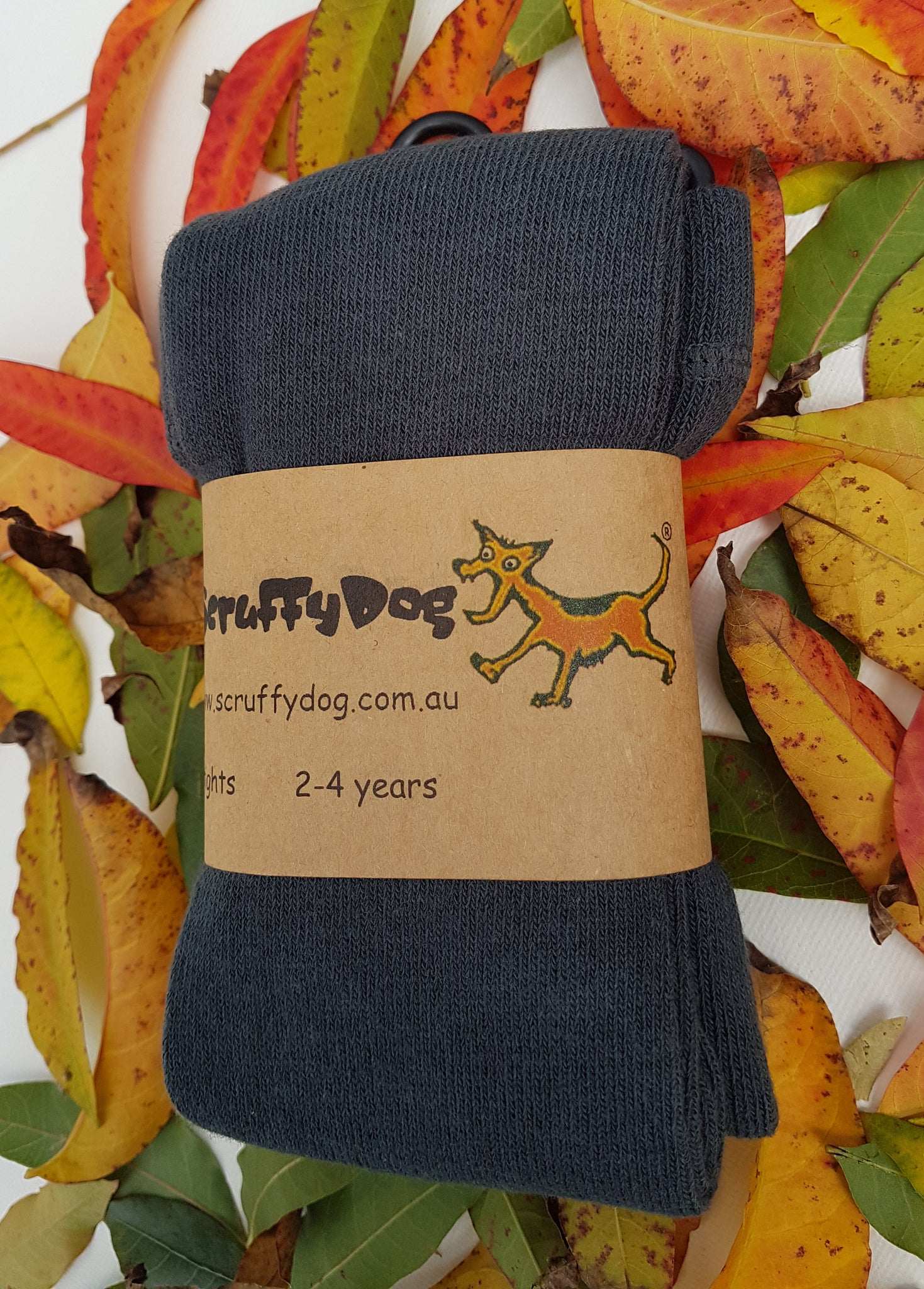 Scruffy Dog Tights - With feet