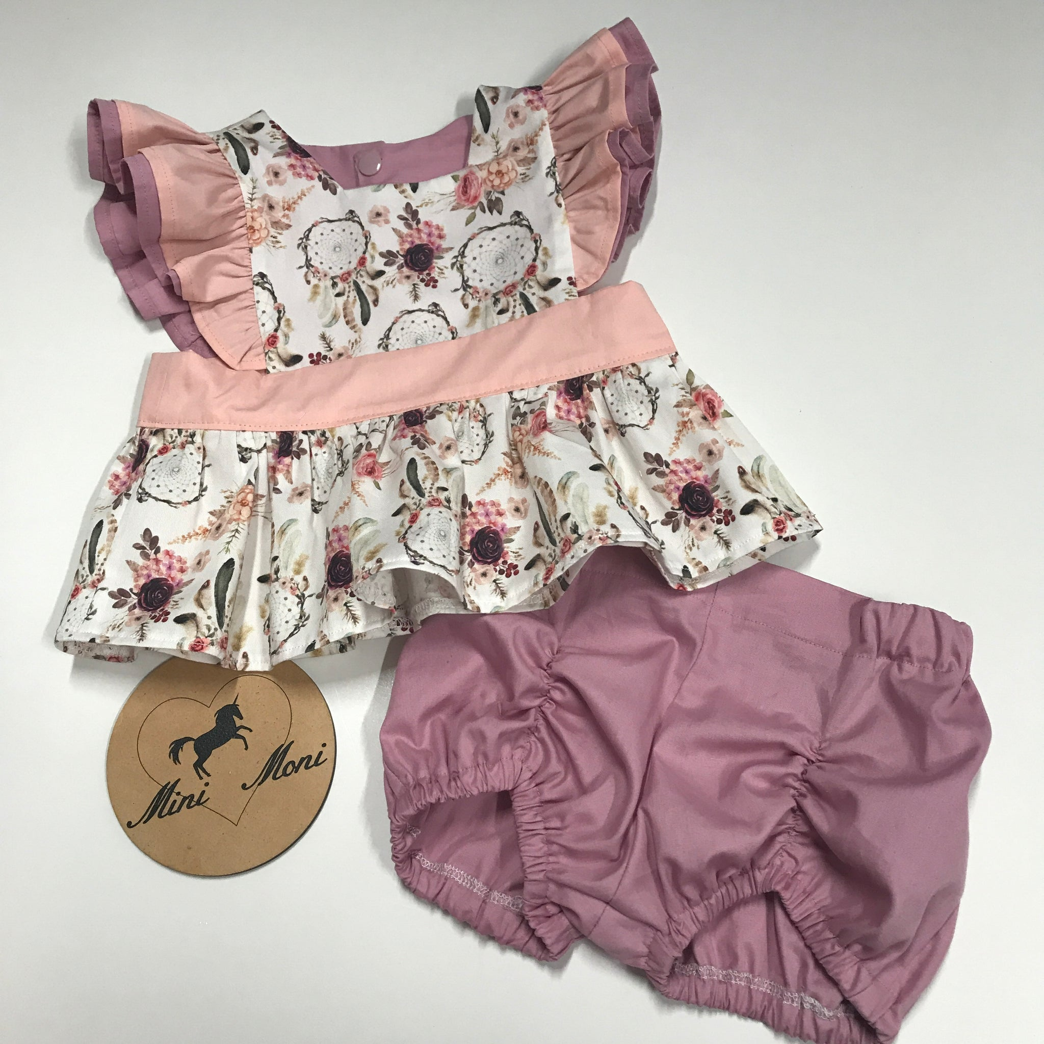 Pinny Peplum and Pucker Shorts