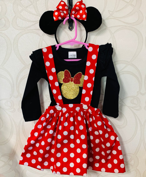 Minnie Mouse inspired outfit
