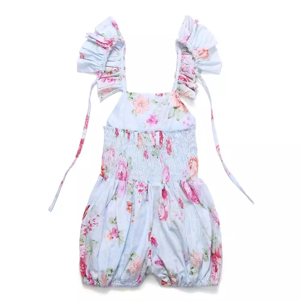 Edith Floral Romper