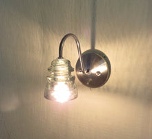 Sleek Artisan Insulator Sconce - My-Custom-Light-Fixtures