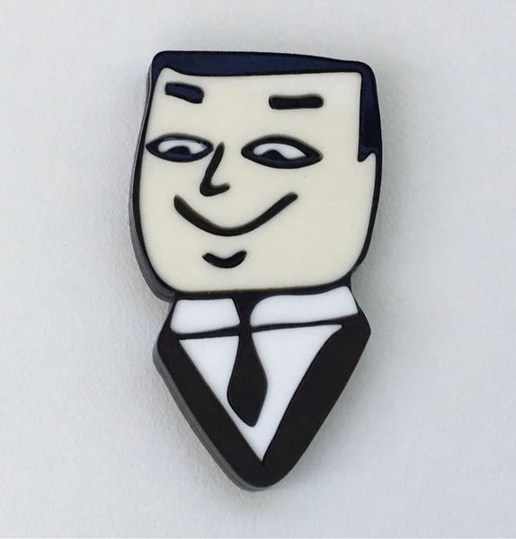 Dapper Dan Brooch