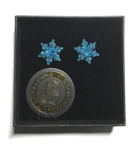 Snowflake Earrings - Multiple Colours