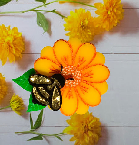 Bee-autiful Bee Brooch